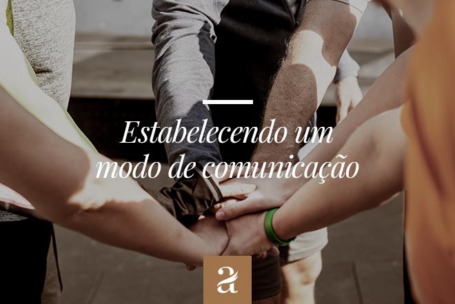 modo de comunicação