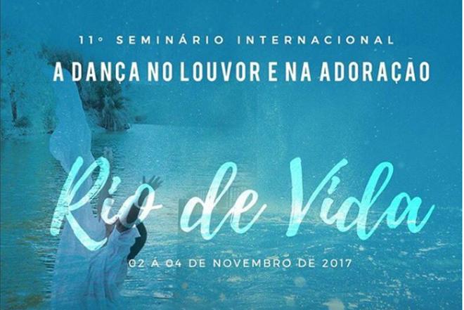 O objetivo do seminário é que cada participante seja cheio do Rio de vida e flua mais e mais deste rio por onde passar.
