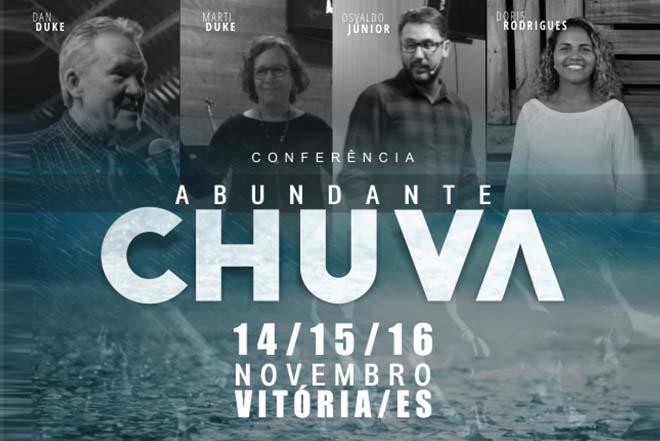 Conferência Abundante Chuva