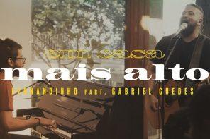 """Fernandinho, Gabriel Guedes, Israel Salazar e André Aquino juntos na canção """"Mais Alto"""""""