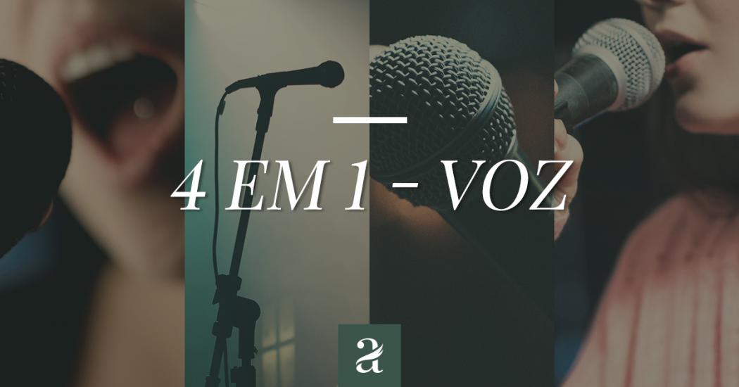 Voz - 4 em 1 |Por luciana Fratelli